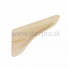 Konzola drevená WDP borovica