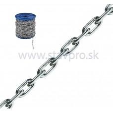 Reťaz dlhý článok DIN 763/5685C zinok