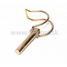 Kolík poistný trubkový